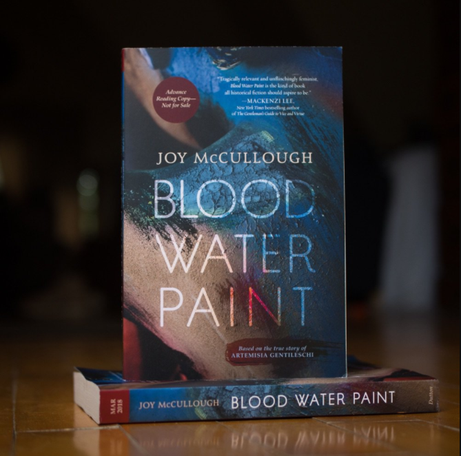 Joy McCullough » Blood Water Paint releases on March 6, 2018